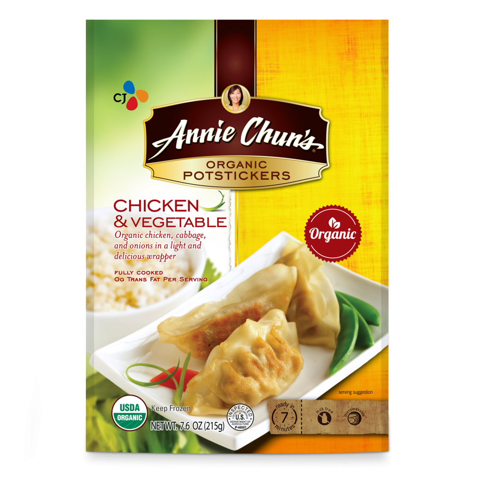 Annie Chun's Chicken & Vegetable Organic Potstickers