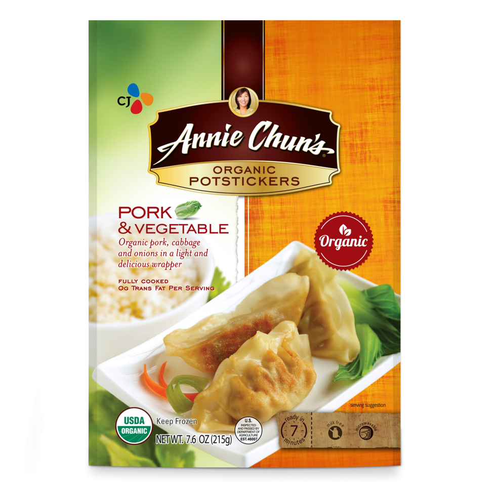 Annie Chun's Pork & Vegetable Organic Potstickers