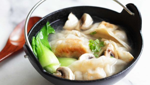 Annie Chun's Mushroom and Bok Choy Potstickers Soup