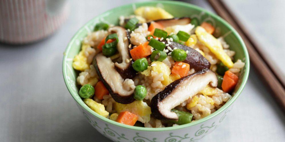 Annie Chun's Shiitake Mushroom and Vegetable Fried Brown Rice