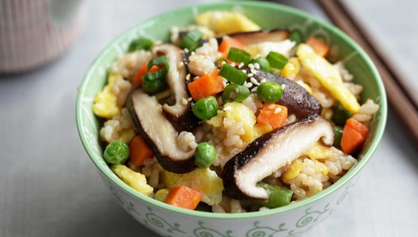 Annie Chun's Shiitake Mushroom and Vegetable Fried Brown Rice