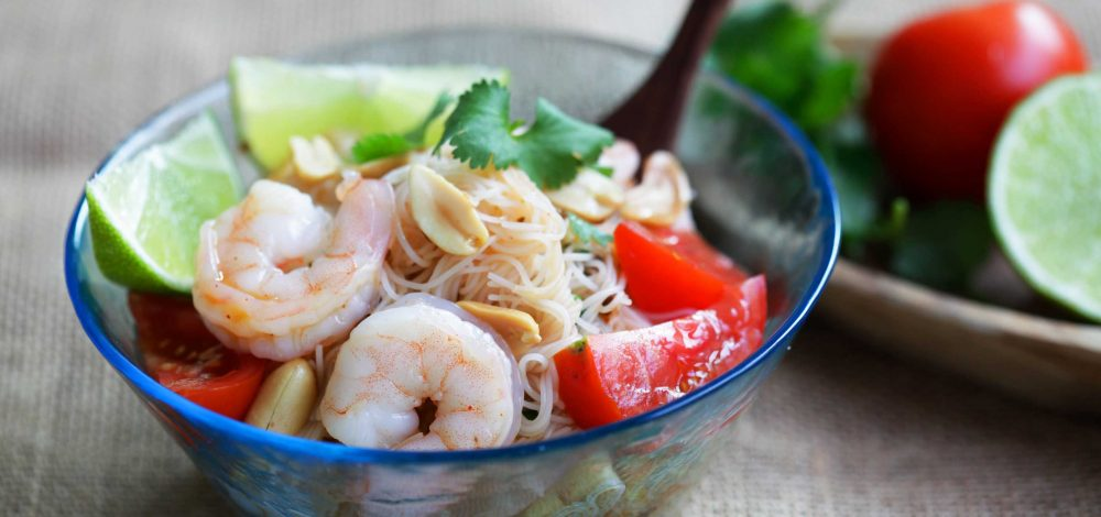 Shrimp Noodle Salad