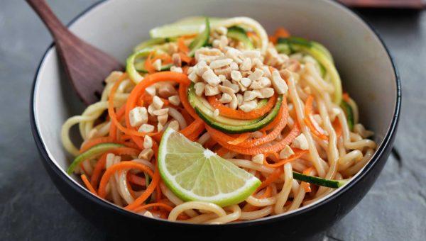 Annie Chun's Zucchini Carrot Pad Thai Noodle Bowl