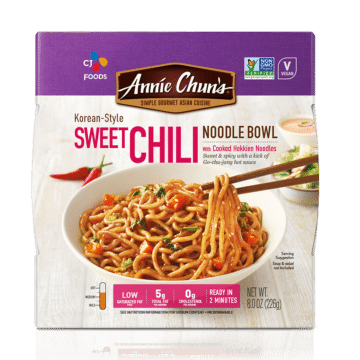 Korean-Style Sweet Chili Noodle Bowl