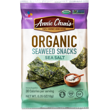 Organic Sea Salt Seaweed Snacks