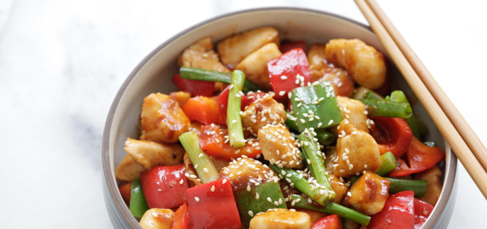 Spicy Teriyaki Chicken Stir-Fry