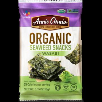 Organic Wasabi Seaweed Snacks