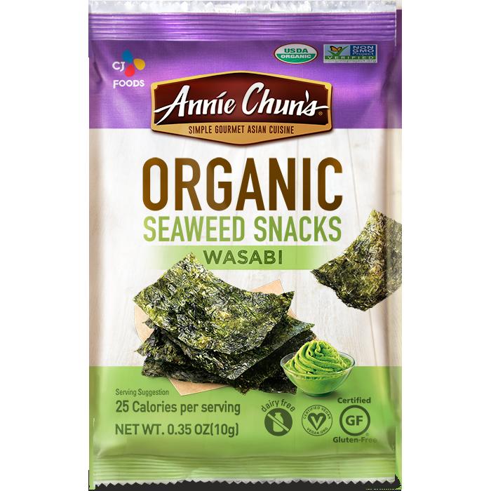Light and Airy Bites | Annie Chun's Organic Seaweed Snacks