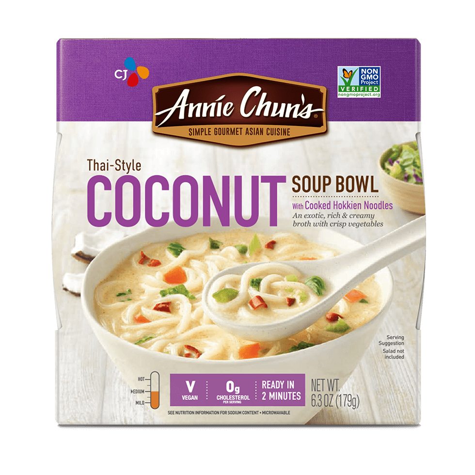 Feel-good Asian Favorites | Annie Chun's Soup Bowls