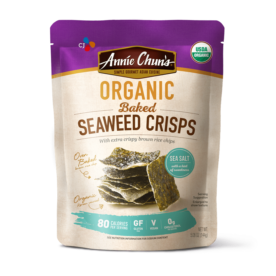 Seaweed Crisps – Annie Chun's