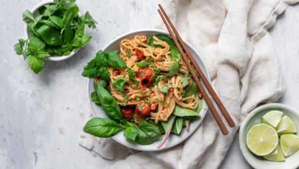 Tahini Summer Noodles