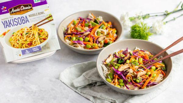 Yakisoba Noodle Veggie Bowl