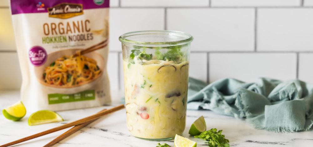 Mason Jar Thai Coconut Soup