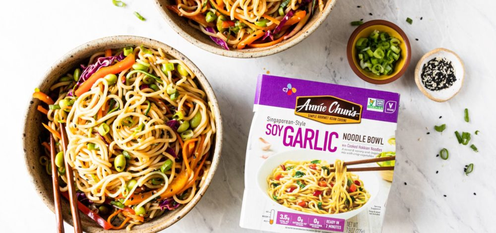 Soy Garlic Noodle Summer Salad