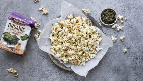 Sesame Seaweed Popcorn