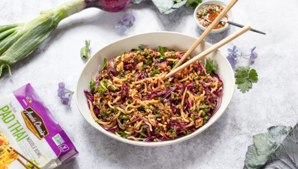 Crunchy Thai Noodle Slaw