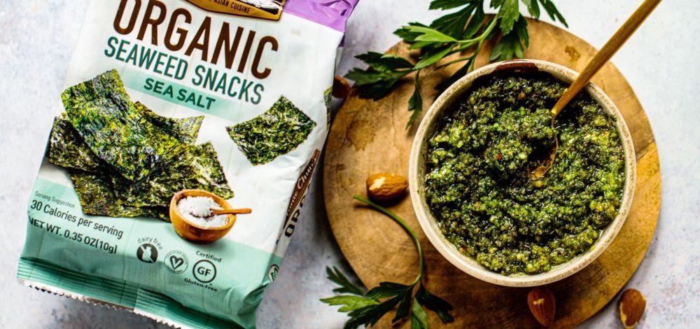 Seaweed Almond Pesto
