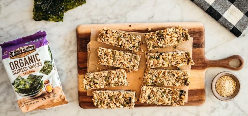 Seaweed Granola Bars