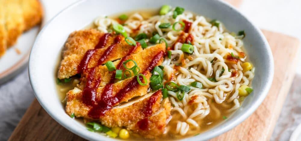 Tofu Katsu Ramen
