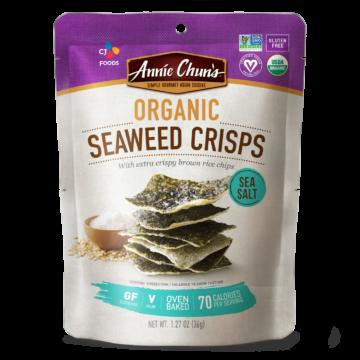 Organic Sea Salt Seaweed Crisps