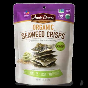 Organic Wasabi Seaweed Crisps