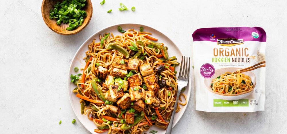 Veggie Stir-Fry with Organic Hokkien Noodles