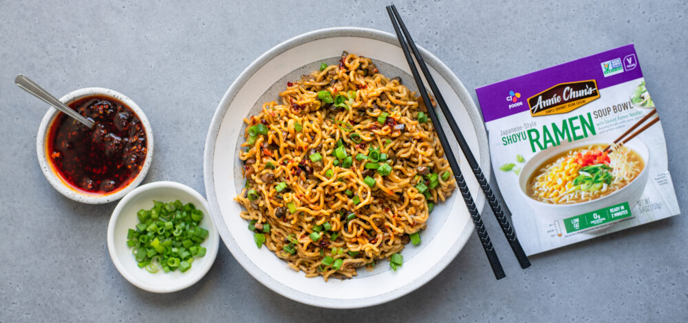 Dan Dan Ramen Noodles