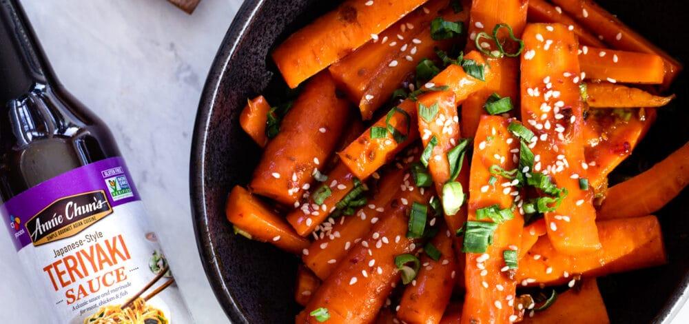 Teriyaki Glazed Carrots