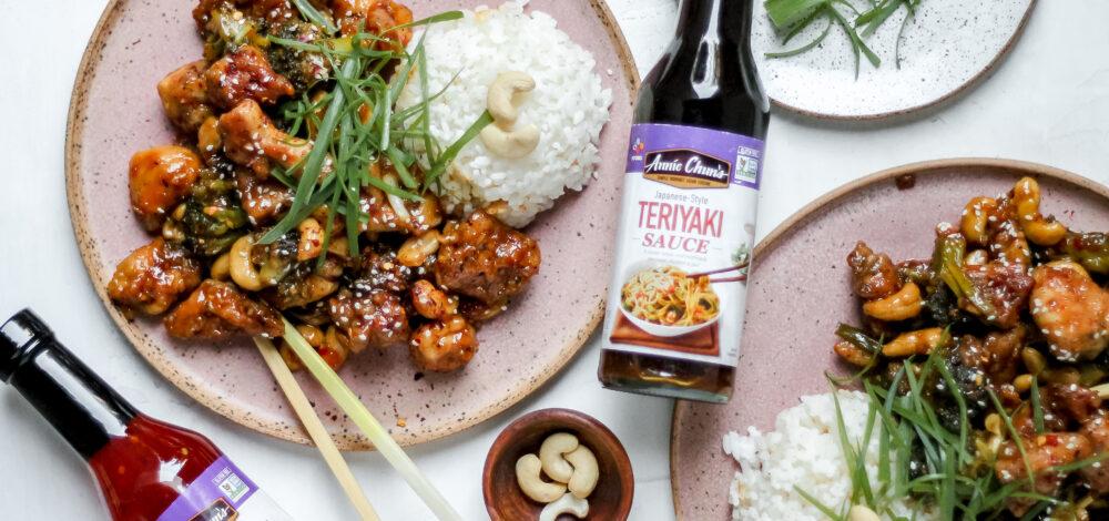 Sweet Chili-Teriyaki Cashew Chicken